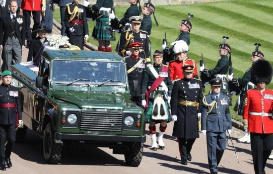 Funeral del príncipe Felipe: el adiós de la reina Isabel II a su amado