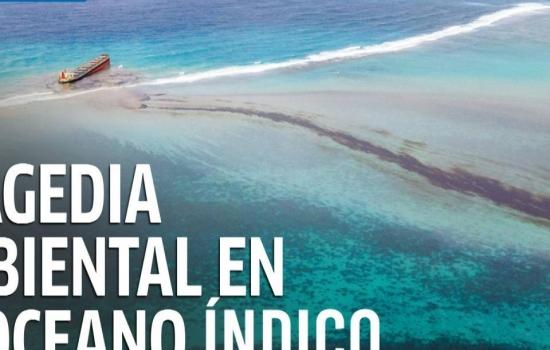 Mauricio declara estado emergencia ambiental por derrame de petróleo