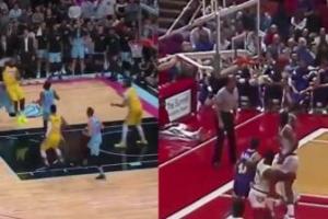 El pase de LeBron con el que la NBA alucina y lo comparan con aquel de Magic Johnson