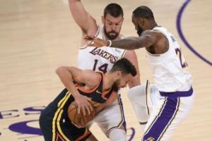 Los Lakers buscan venganza y aplastan a los Warriors