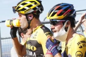 El Jumbo tiene tridente para el Tour: Roglic-Dumoulin-Kruijswijk