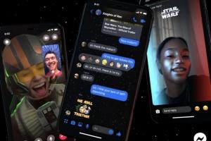 ¿Fan de Star Wars? Conviértete en Jedi con estos filtros de Messenger