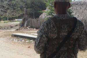 Investigan muerte de un menor por disparos con arma de infante de Marina