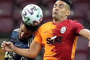Falcao se fue en blanco y Galatasaray no pudo con Fenerbache