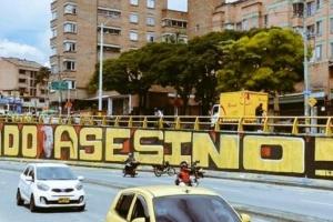 Polémica por mural que habría sido borrado por el Ejército en Medellín