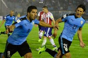 Suárez y Cavani, reservados para el partido contra Colombia