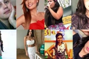 Actrices y presentadoras colombianas 'top' antes de ser famosas