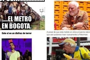 El metro, 'Pain Harold' en Bogotá y los mejores memes de la semana