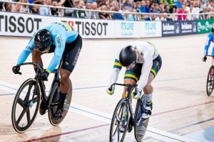 Así fue la victoria de Kevin Quintero en la Copa Mundo de Ciclismo