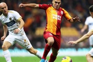 Así le fue a Falcao en el partido del Galatasaray contra Ankaragucu's