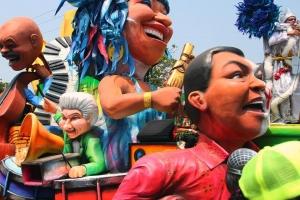 Así será la gran Batalla de Flores del Carnaval de Barranquilla