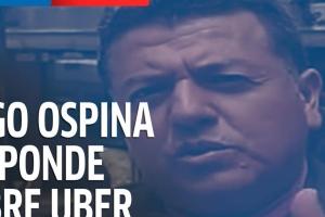 Hugo Ospina, líder de los taxistas, responde al regreso de Uber