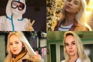 Enfermera que luchó sin ropa contra covid-19 ahora triunfa como modelo
