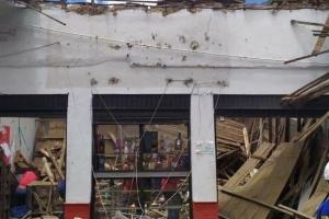 Susto en pueblo de Antioquia por el desplome de varios techos
