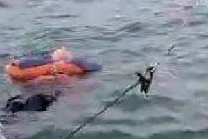 Pescador que rescató a mujer en playa de Salgar cuenta sus hipótesis