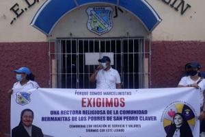 Con plantón, rechazan nombramiento de rectora en IED de Barranquilla