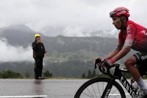Nairo Quintana sigue en el 'top' 10 del Tour de Luxemburgo