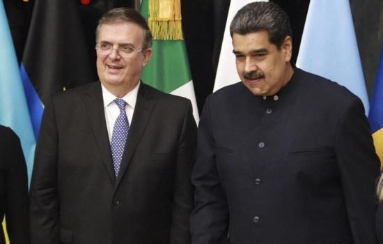 Nicolás Maduro llega a México para la cumbre de la Celac