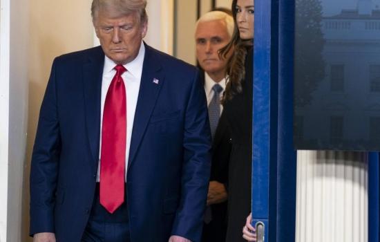 Trump dice que dejará la Casa Blanca si confirman la victoria de Biden