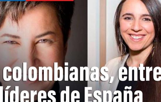 En vivo: dos colombianas, entre las cien líderes de España