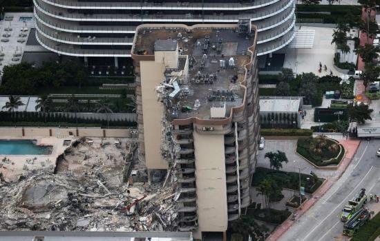 ¿Qué se sabe del edificio que se derrumbó en Miami?