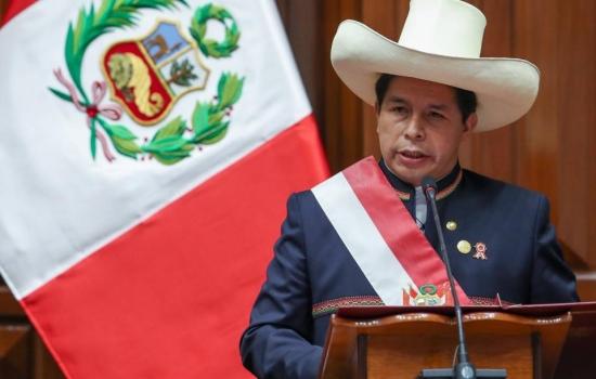 Pedro Castillo tuvo su primera crisis antes de juramentar a su gabinete